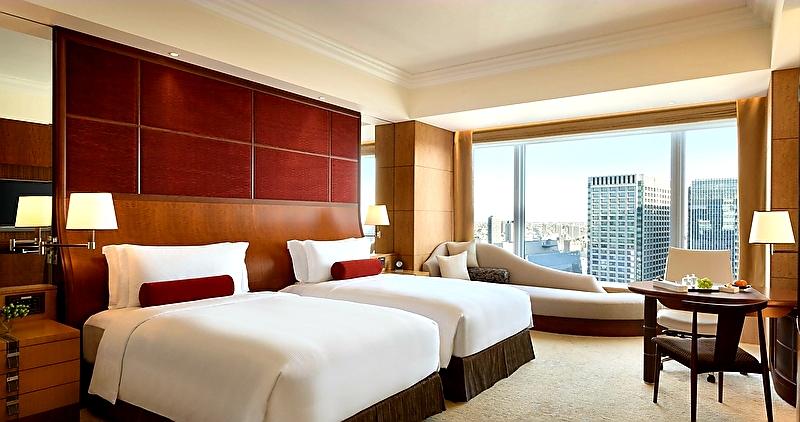 ビジネスホテルの客室部屋